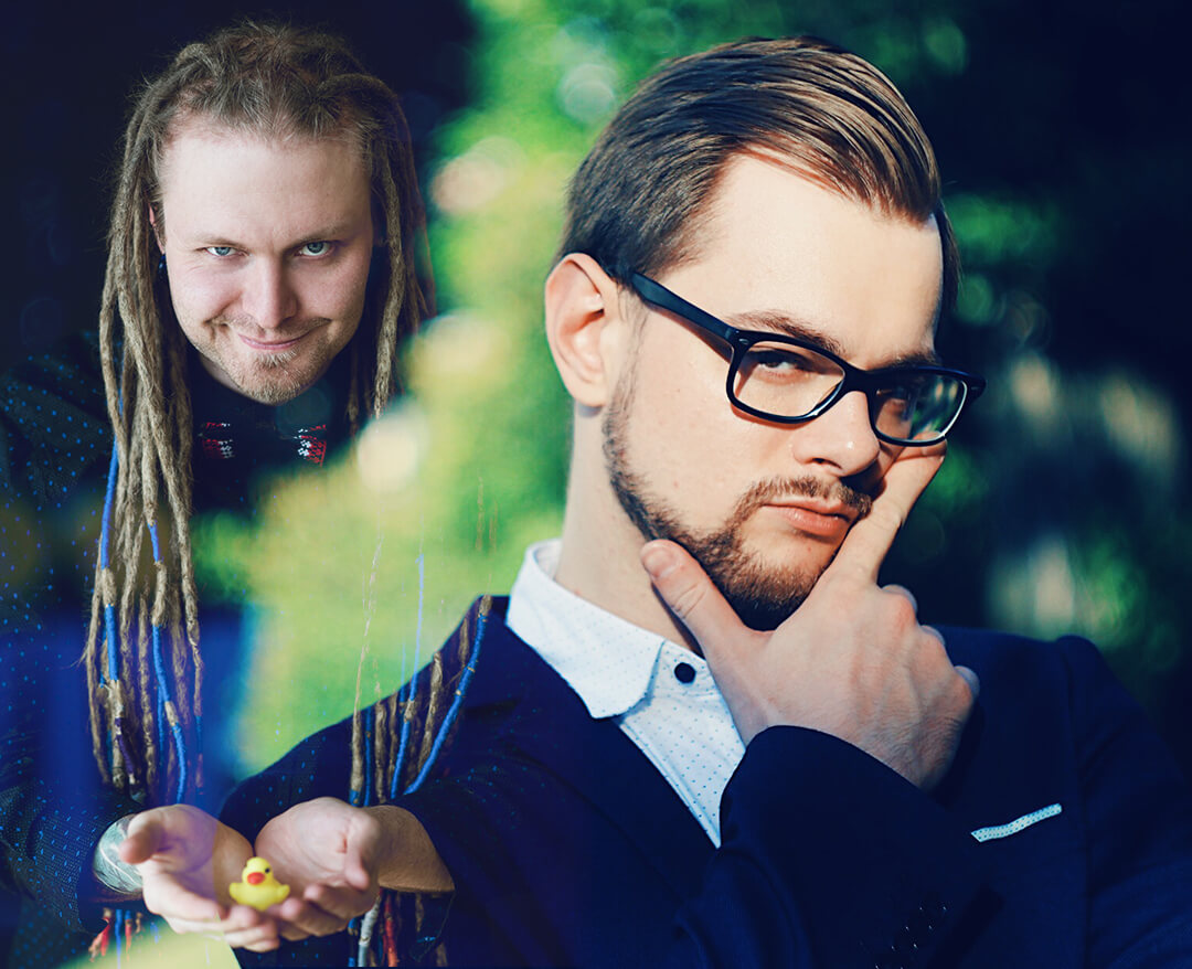 DEVIK71 та MYACH DREADBALL — ведучі Comic Con Ukraine 2019!
